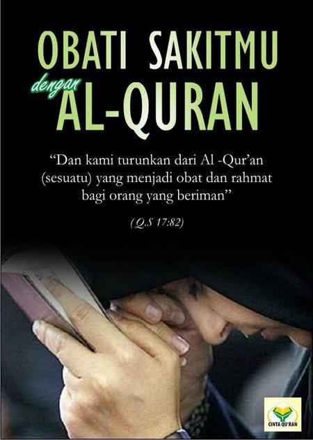 Quran obat sakit hati