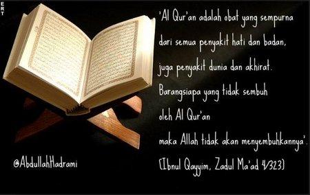 Quran obat segala penyakit