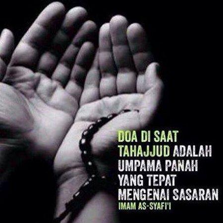 Tahajud berdoa Panah