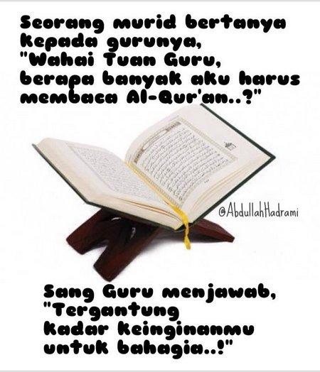 Baca Quran nanya