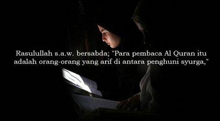 Baca quran twitt