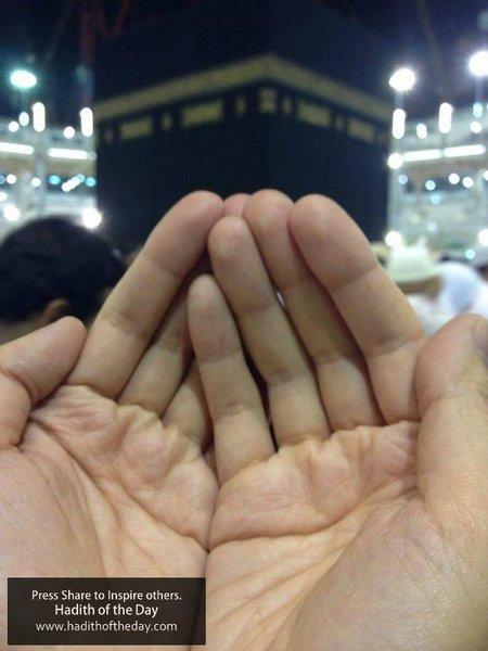 Berdoa di kabbah