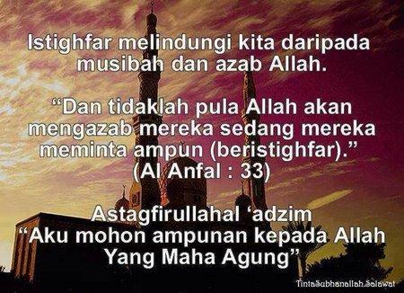 Istigfar Al-quran dan hadis