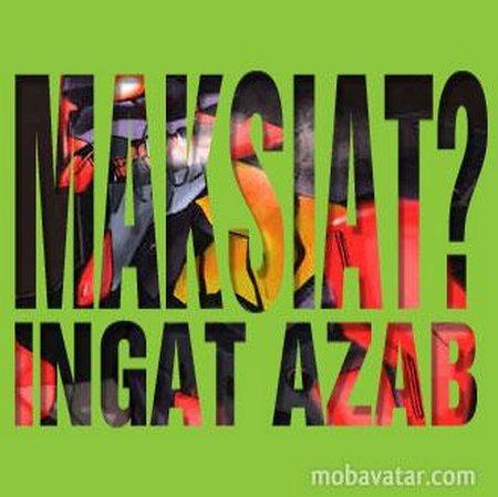 Maksiat azab