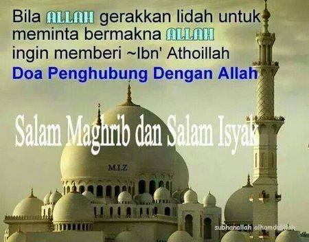 Salam Magrib dan isya