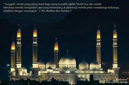 Sholat subuh mesjid subuh