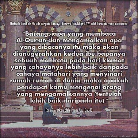 Baca Al - quran untuk ortu
