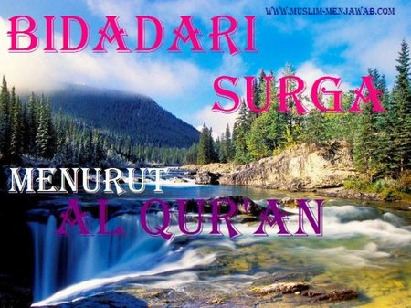 Bidadari-Surga-menurut-Al-Quran