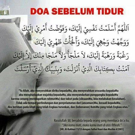 Doa Sebelum Tidur 1