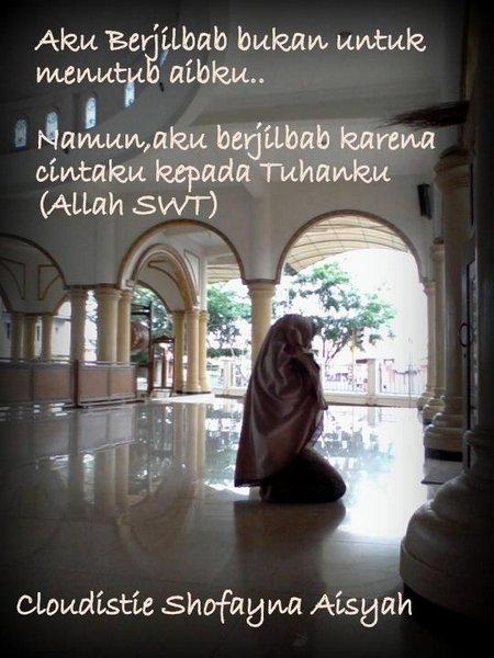 Jilbab cinta allah