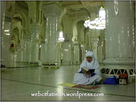Khatam quran di Haram