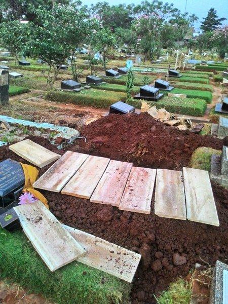 Papan kuburan