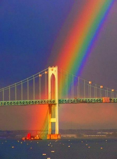 Pelangi jembatan