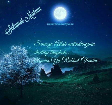 Selamat malam biru