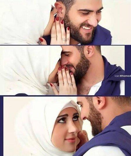 Suami istri mesra dan manis