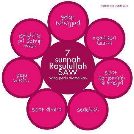 7 sunnah rosul