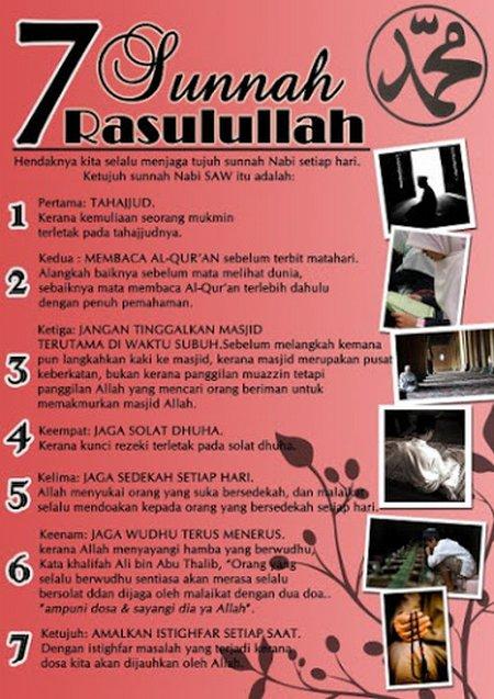 7 sunnah rosul 2