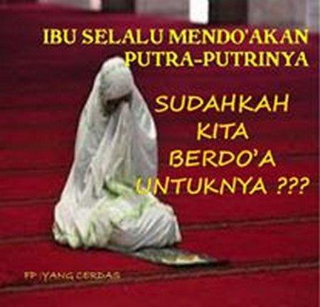Berdoa untuk ortu 1