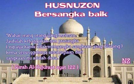 Berprasangka baik Huzudon