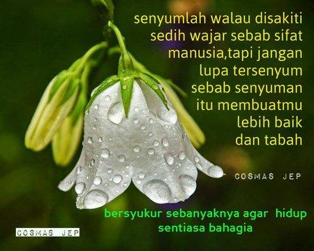 Bersyukur agar hidup bahagia