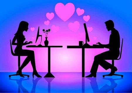 Chating pasangan-online