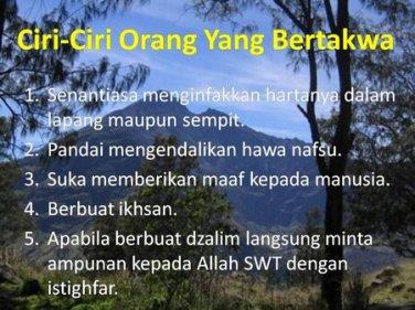 Sebutkan Salah Satu Ciri Orang Yang Ikhlas Dalam Amal ...