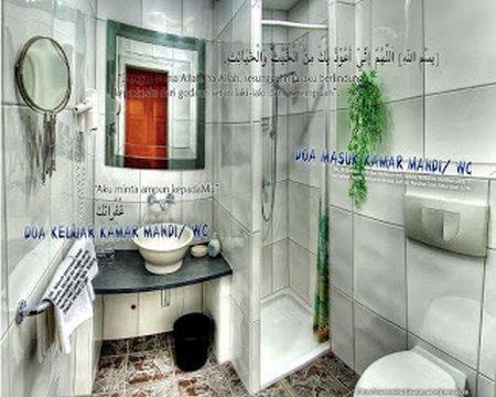 doa masuk wc