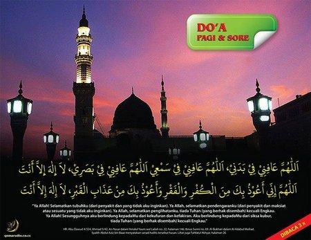 Doa Pagi dan sore 1