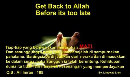Kematian get back to Allah