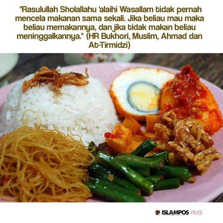 Diet Pemakanan Rasulullah SAW
