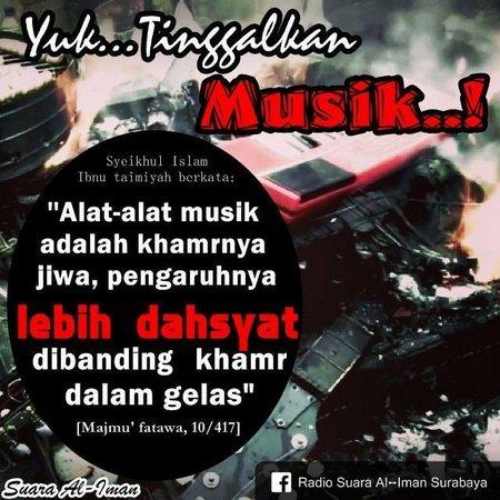 musik tinggalkan