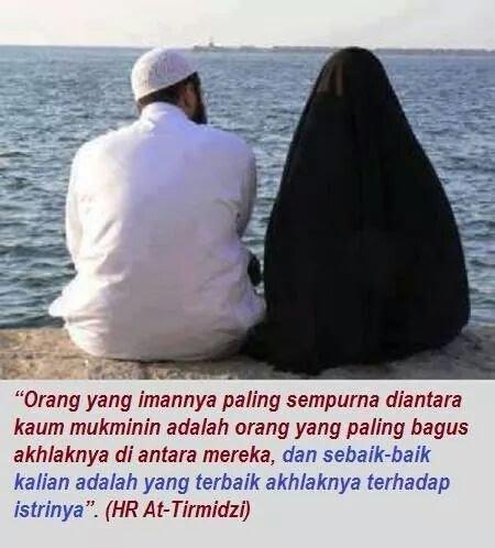 Suami yg baik pada istri dan kel