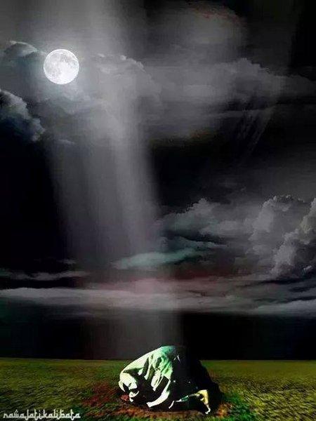 Tahajud bulan