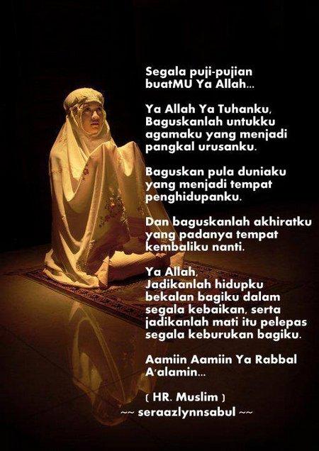 Tahajud doa ibu