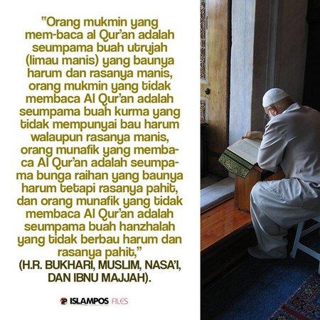Baca quran dan hadist