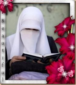 Cadar muslimah-cantik baca quran