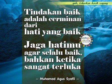 Jagalah hatimu