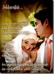 Pasangan pengantin  4 tiang