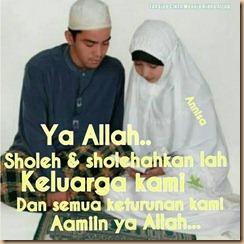 Pasangan sholeh dan sholehah