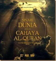 Quran sinari dunia .