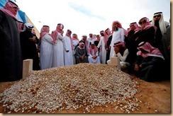 Raja arab dimakamkan