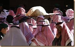 Raja arab jenazah