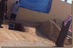 Raja arab lubang kubur