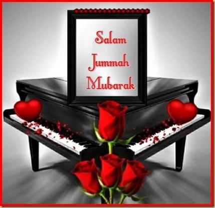 Salam jummah mubarak  rose