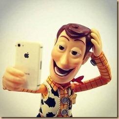Selfie kartun