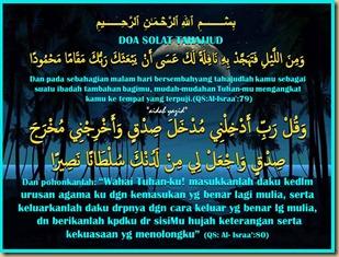Tahajud doa aidah
