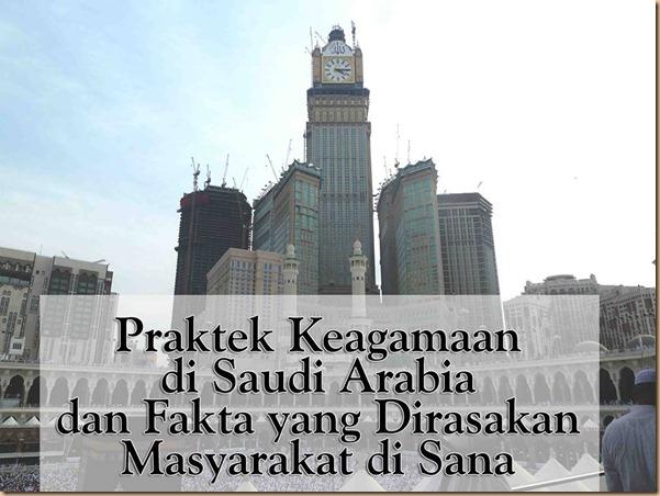Agama di saudi dan praktek nya