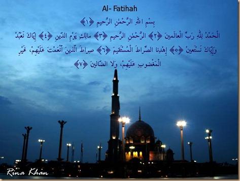 Alfatihah Mesjid