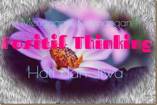 positif thingking G