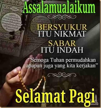 Selamat pagi Quran
